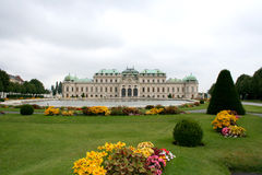 Castle belvedere. Digital photo of the castle belvedere in vienna, austria stock photography