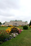 Castle belvedere. Digital photo of the castle belvedere in vienna, austria Royalty Free Stock Images