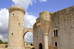 Castle Belvedere in Majorca Royalty Free Stock Photos