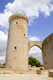 Castle Belvedere in Majorca Stock Photo