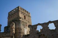 Castle at Belvis de Monroi, Estremadura, Spain Stock Photos