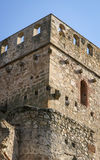 Castle at Belvis de Monroi, Estremadura, Spain Royalty Free Stock Photography