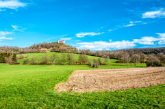 Castle of belvoir in France Royalty Free Stock Photos