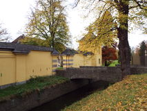 Castle Benrath (orangery). Germany, Dusseldorf 2014 Stock Images