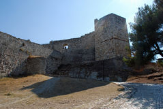 Castle at Berat Royalty Free Stock Photos