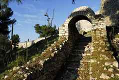Castle of Berat Stock Photography