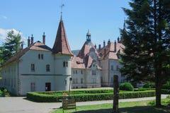 Castle Beregvar Shenborn Στοκ φωτογραφία με δικαίωμα ελεύθερης χρήσης