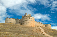 Castle of Berlanga de Duero Stock Photography