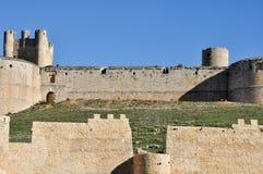 Castle of Berlanga de Duero, Castile and Leon (Spain) Royalty Free Stock Image
