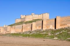 Castle of Berlanga de Duero, Soria (Spain) Royalty Free Stock Image