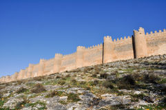 Castle of Berlanga de Duero, Soria (Spain) Royalty Free Stock Photos