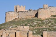 Castle of Berlanga de Duero, Soria (Spain) Royalty Free Stock Photo