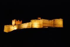 Castle of Berlanga del Duero in Soria, Spain Stock Image