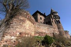 Castle Berlepsch at Witzenhausen in northern Hesse Germany. The Castle Berlepsch at Witzenhausen in northern Hesse Germany Stock Photography