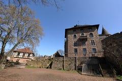 Castle Berlepsch at Witzenhausen in northern Hesse Germany. The Castle Berlepsch at Witzenhausen in northern Hesse Germany Royalty Free Stock Images
