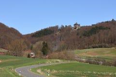 Castle Berlepsch at Witzenhausen in northern Hesse Germany. The Castle Berlepsch at Witzenhausen in northern Hesse Germany Stock Images