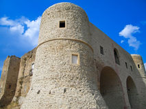 The Castle of Bernalda. Basilicata. Stock Image