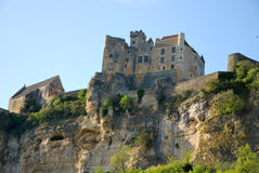 The castle of Beynac Royalty Free Stock Photos