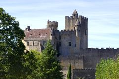 Castle of Beynac Royalty Free Stock Photography