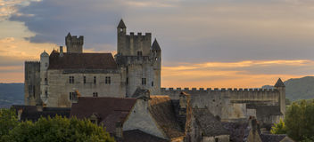 Castle of Beynac Stock Photography