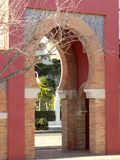 Castle of Bil-Bil-Door-Benalmadena-Malaga-Andalusia Royalty Free Stock Photography