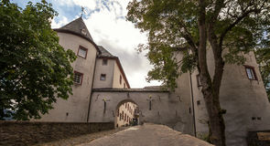 Castle bilstein hessen germany Stock Photography