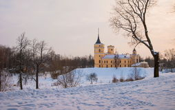 Castle BIP Mariental in Pavlovsk. Stock Images