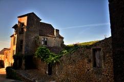 Castle of Biron, Dordogne, France Stock Photos