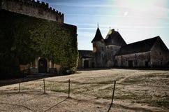 Castle of Biron, Dordogne, France Royalty Free Stock Photography