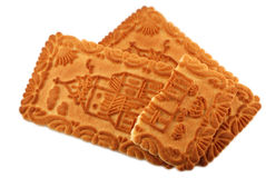Castle biscuits isolated. On white background Stock Image