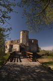 Castle of Bishops in Siewierz. Royalty Free Stock Photo