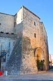 Castle of Bitritto. Puglia. Italy. Stock Photos