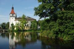 Castle Blatná royalty free stock photos