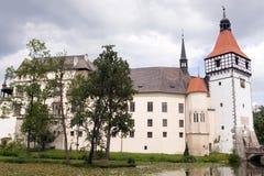 Castle Blatna in Bohemia Royalty Free Stock Image