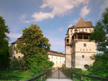 Castle Blatna in Czech republic Royalty Free Stock Photography