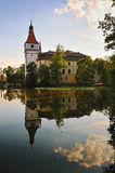 Castle Blatna, czech republic Royalty Free Stock Photography