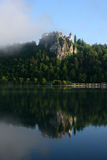 Castle on Bled Lake Royalty Free Stock Photography