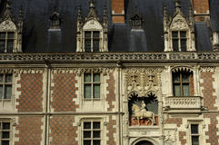 Castle of Blois Stock Photography