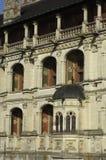 Castle of Blois, renaissance stairway Stock Images