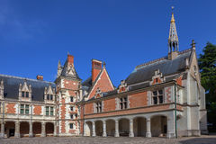Castle of Blois Stock Images