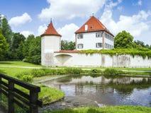 Castle Blutenburg Bavaria Germany Royalty Free Stock Photography