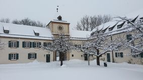 Castle Blutenburg stock images