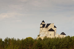 Castle in Bobolice - Poland Stock Photography