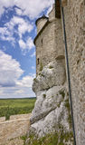 Castle in Bobolice & x28;Poland& x29; Royalty Free Stock Photos