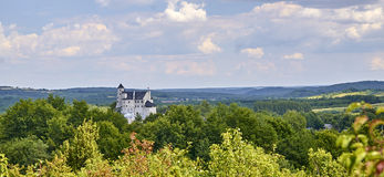 Castle in Bobolice & x28;Poland& x29;. Medieval castle in Bobolice & x28;Poland& x29 Stock Photos