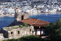 Castle and Bodrum Stock Photo