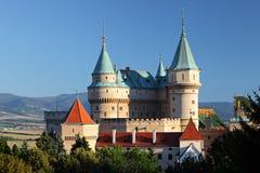 Castle Bojnice Stock Photo