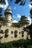 Castle in Bojnice, slovakia. Old beautiful castle in Bojnice Royalty Free Stock Photography