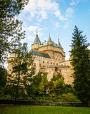 Castle in Bojnice, Slovakia Royalty Free Stock Photos