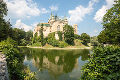 Castle Bojnice Royalty Free Stock Images